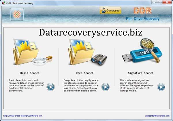 Windows 7 Pen Drive Data Recovery Service 4.0.1.6 full